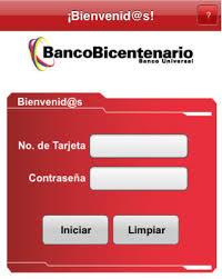 App del Banco Bicentenario