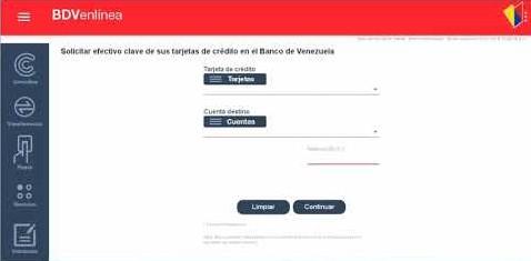 afiliación al sistema de banca electrónica del Banco de Venezuela